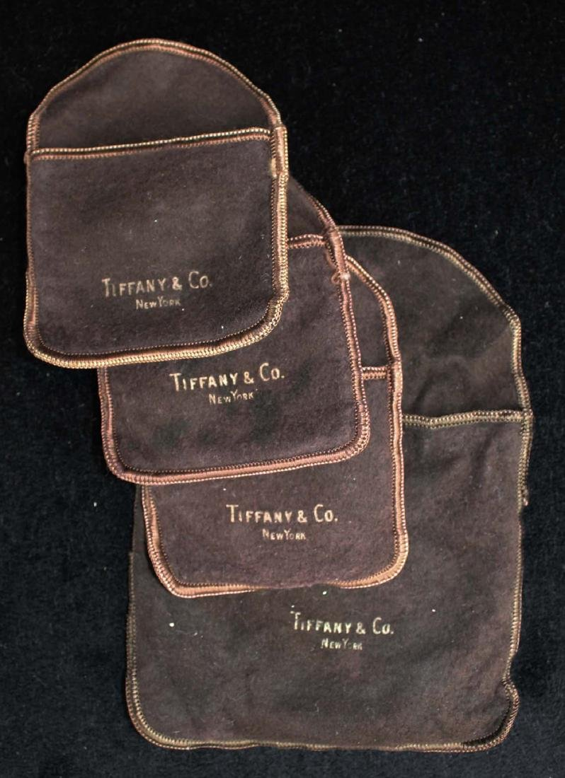 Tiffany & Co. leaf form sterling silver nut set - 4
