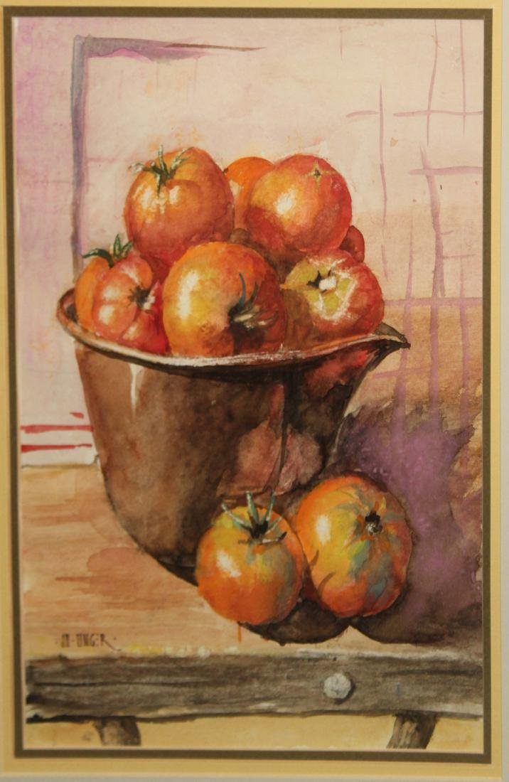 JD Unger (NY 20thc) Tomatoes