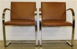 Mid Century Modern Knoll Brno chairs