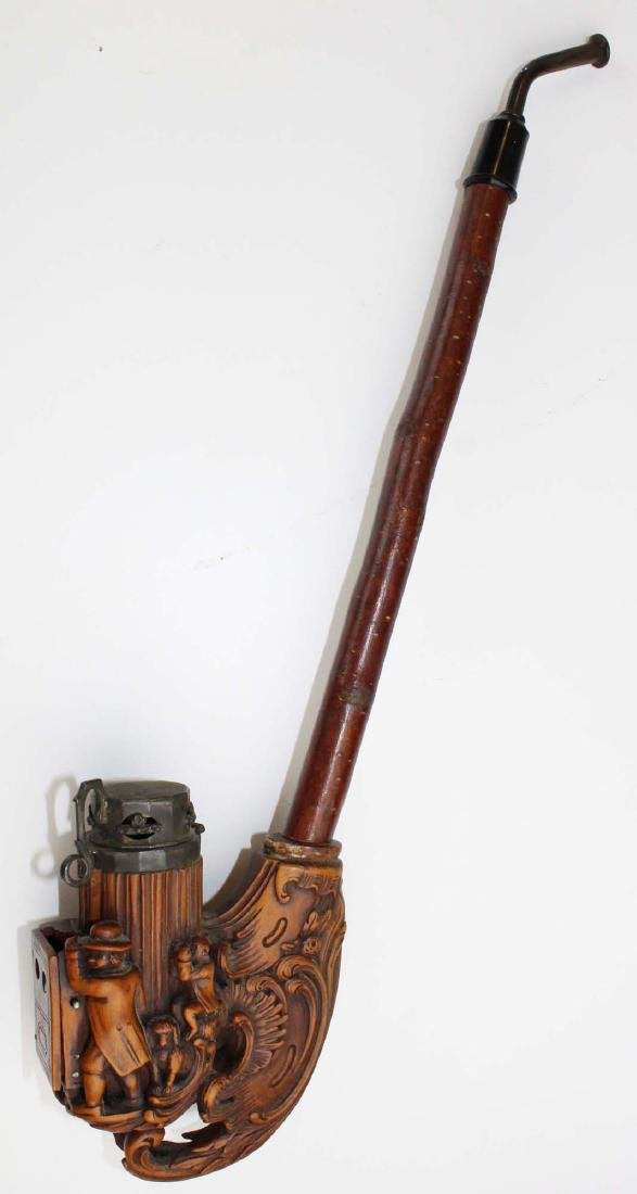 late 19th c German Black Forest jaeger pipe