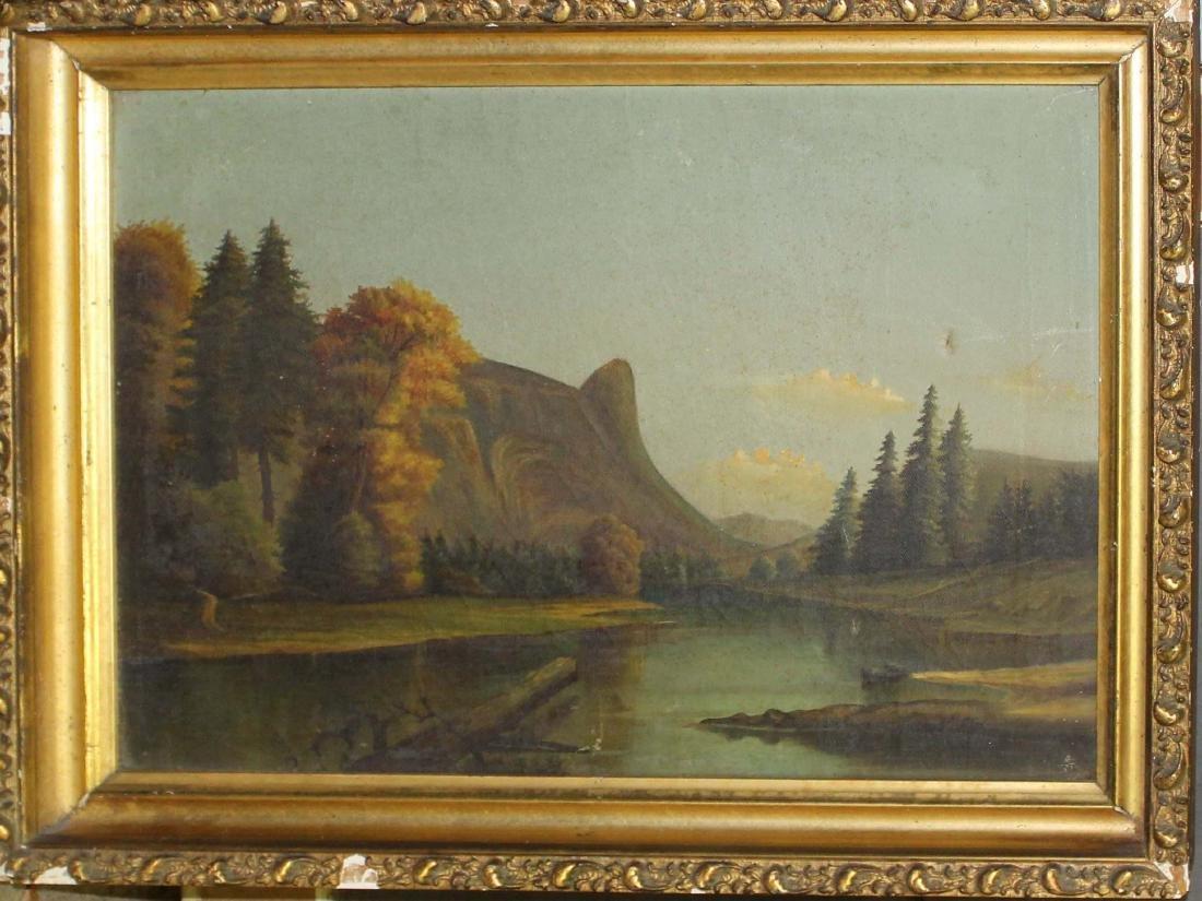 19thc Hudson River School Landscape
