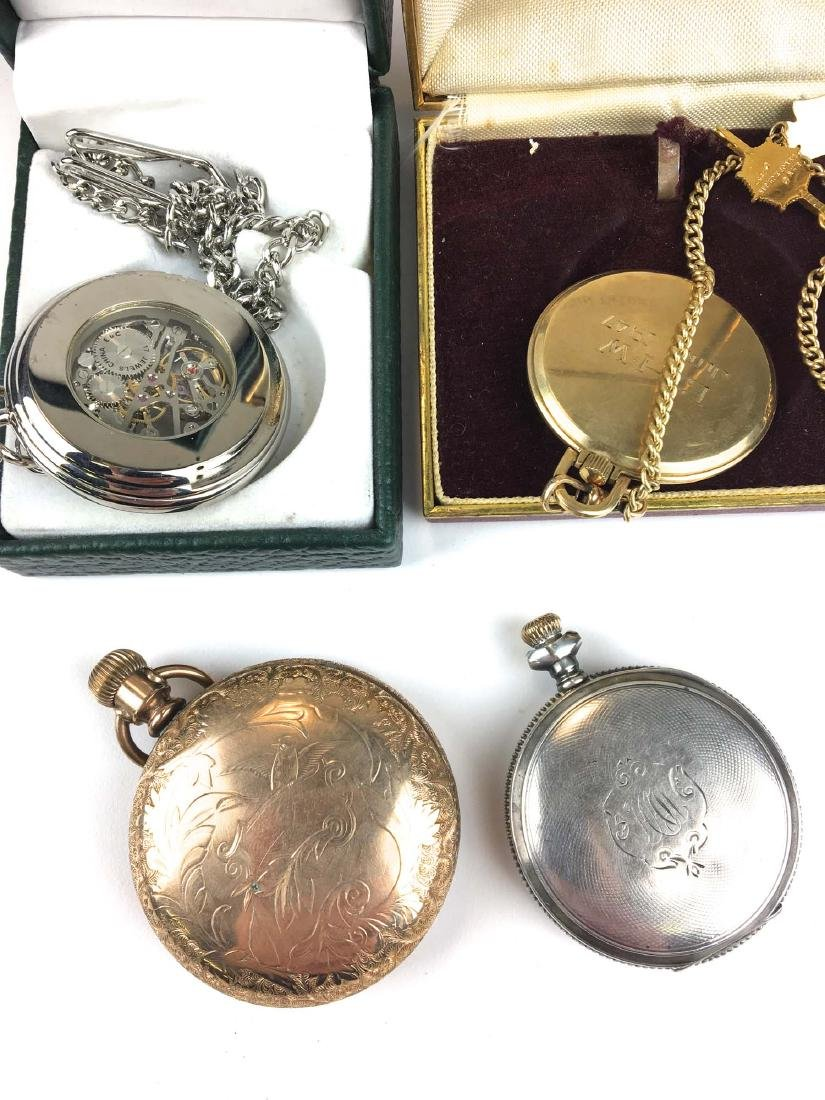 A group of 4 pocket watches - 2