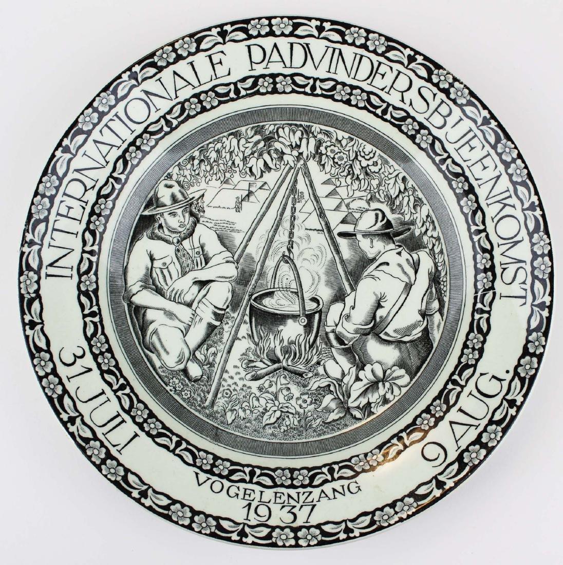 1937 Boy Scout Jamboree plate