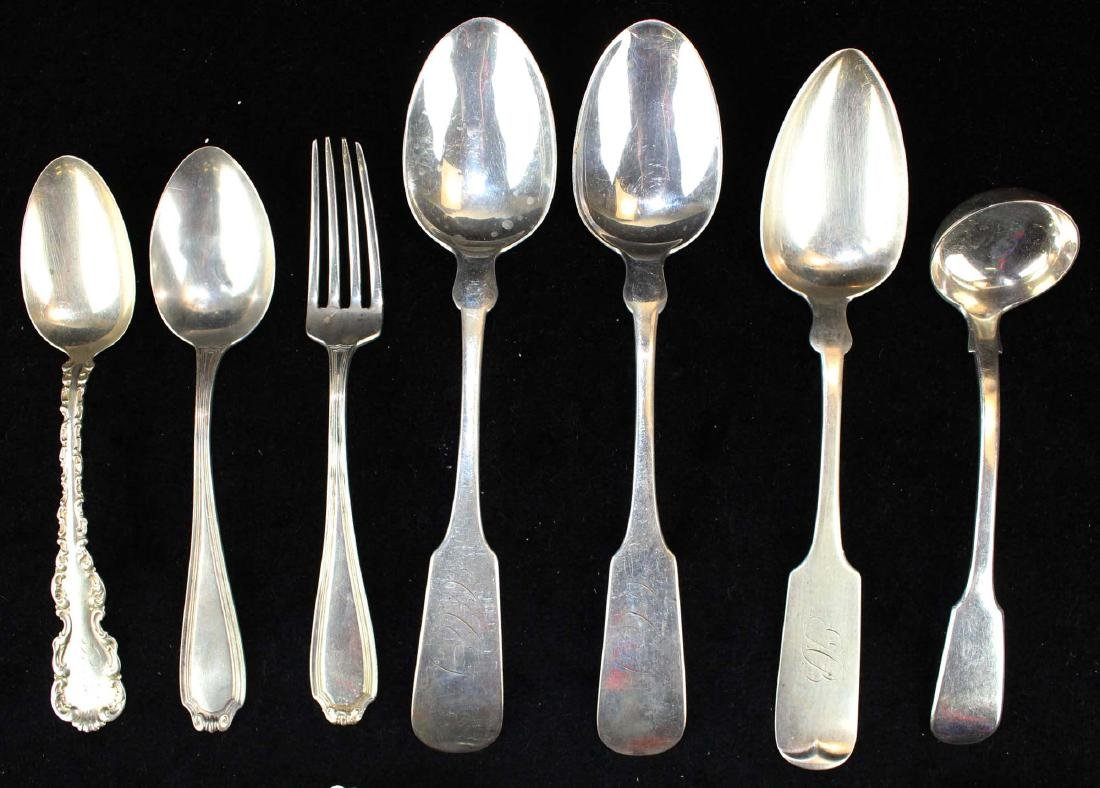 15 pcs. American and English sterling flatware - 4