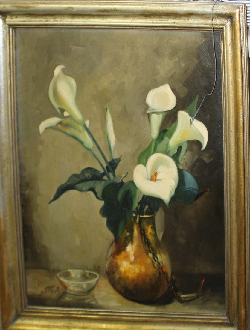 Irene Stry (MA 1899-1963) Callalilies