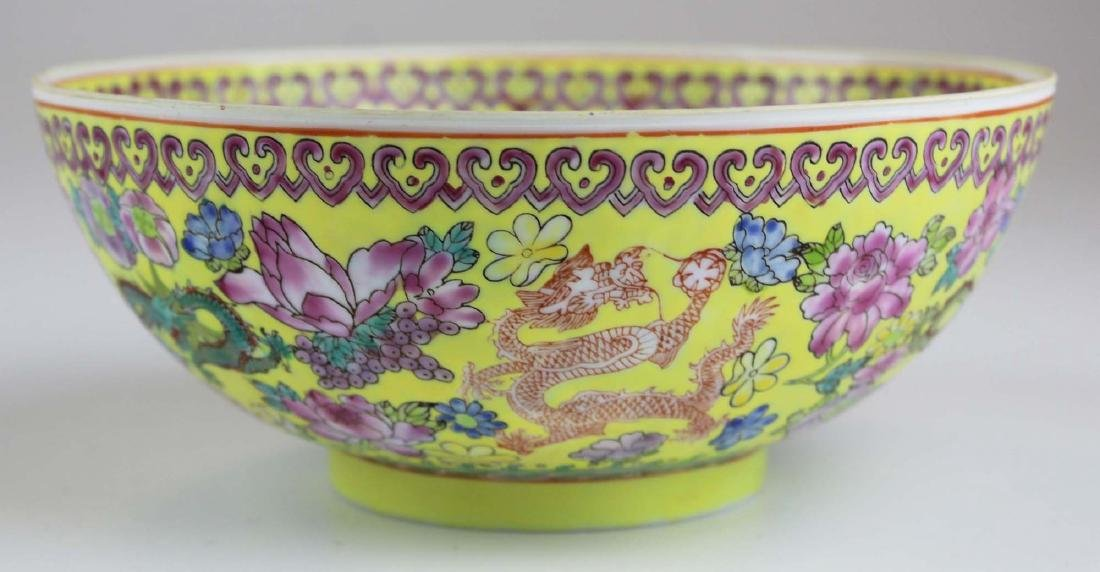 early 20th c Chinese eggshell bowl - 2