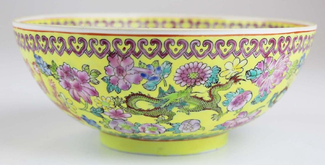 early 20th c Chinese eggshell bowl - 6