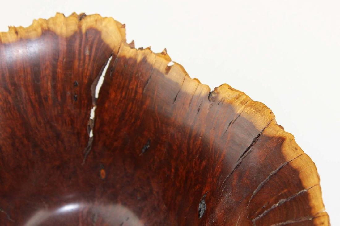 1982 Hap Sakwa turned wooden bowl - 7