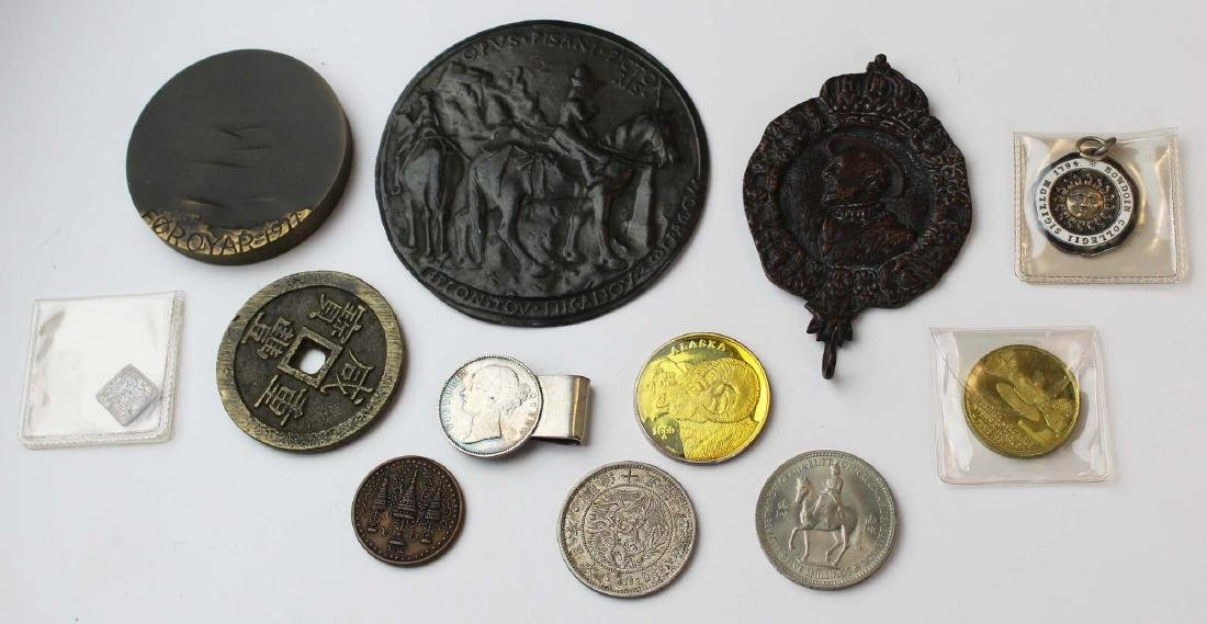 bronze medals, coins, & tokens