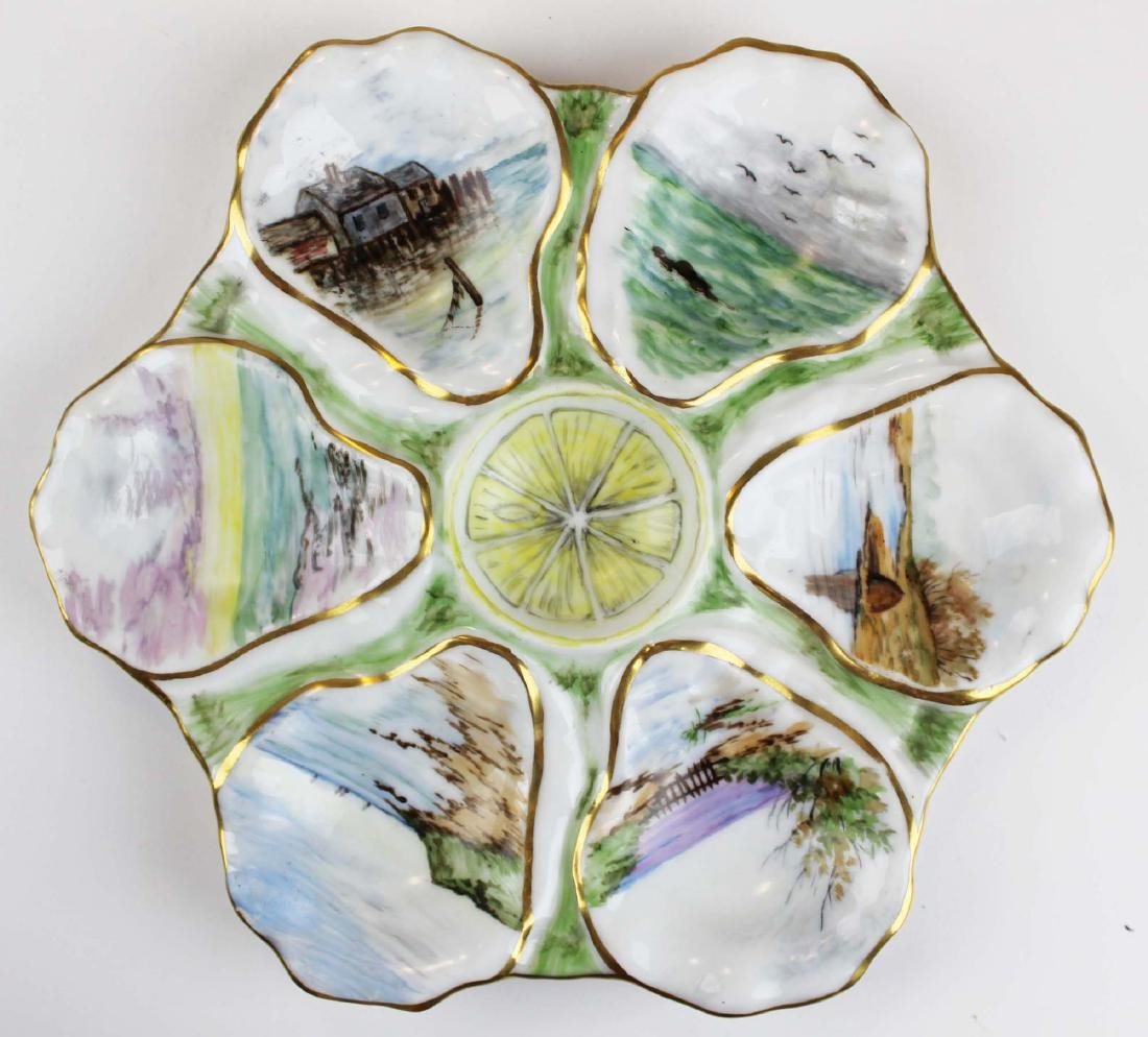 group of mixed porcelain and glass incl. Belleek - 7