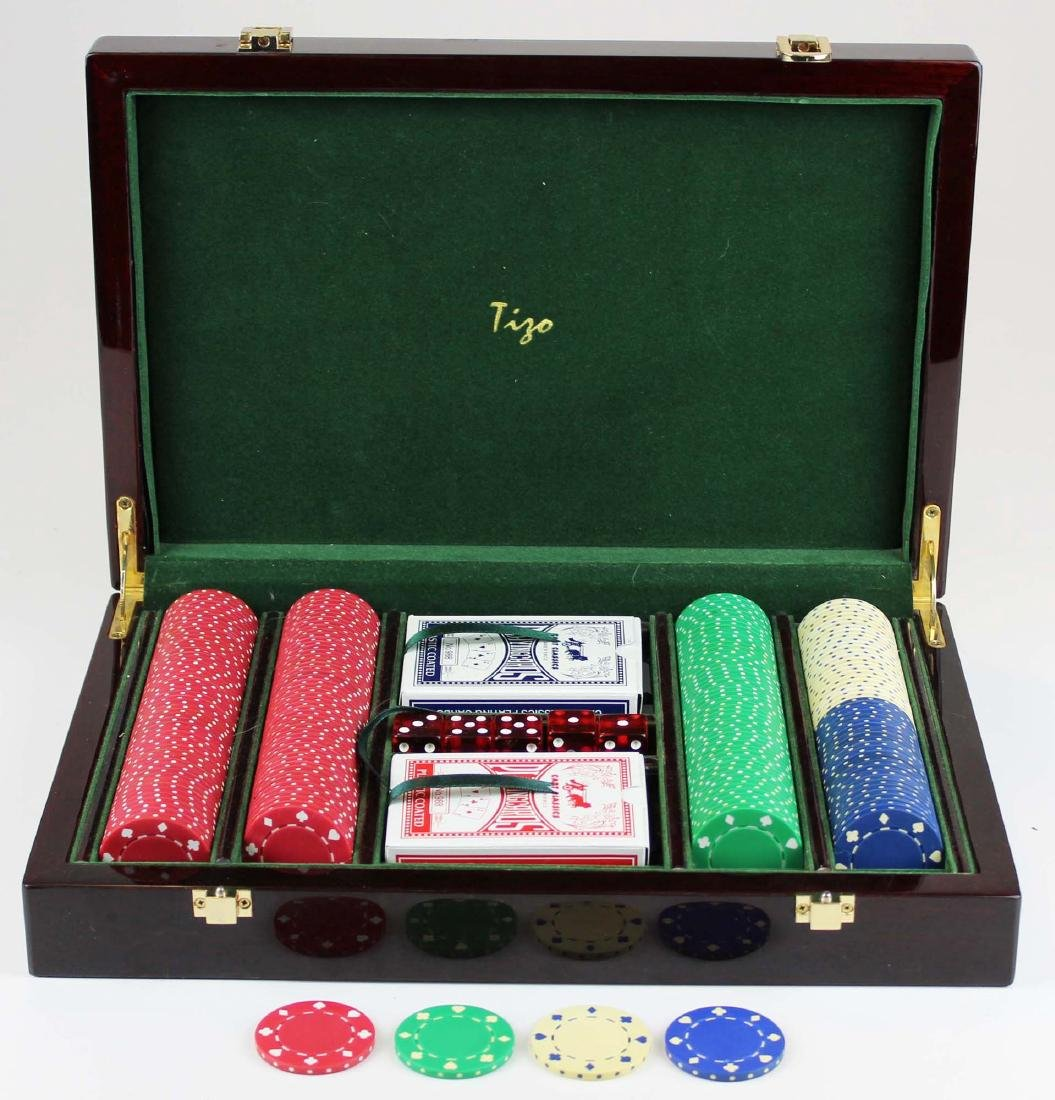 Tizo cased poker chip set