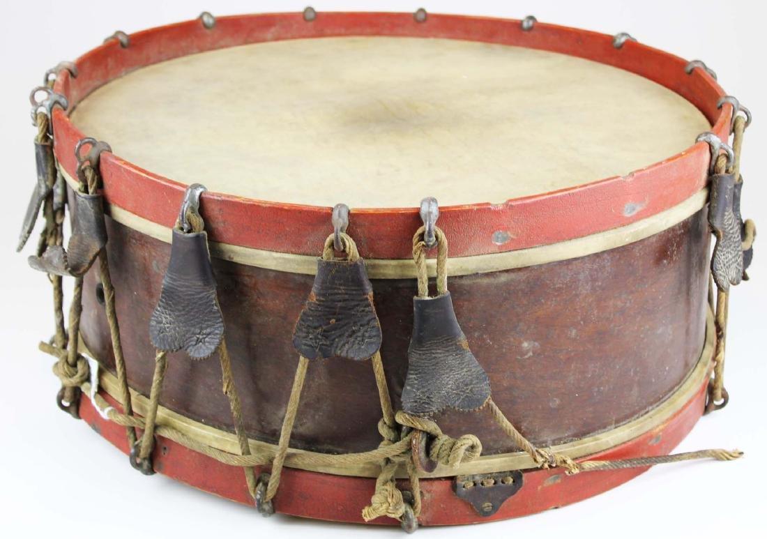 Sewell Morse Brattleboro, VT snare drum - 2