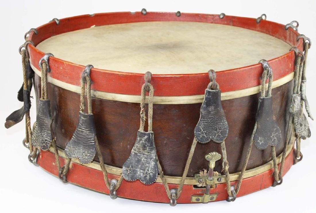 Sewell Morse Brattleboro, VT snare drum - 3