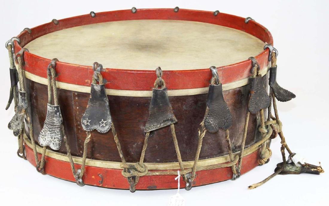 Sewell Morse Brattleboro, VT snare drum - 4
