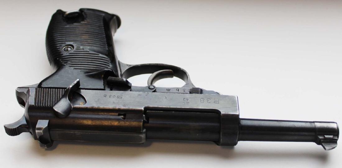 WWII Era Walther P38 Pistol - 9