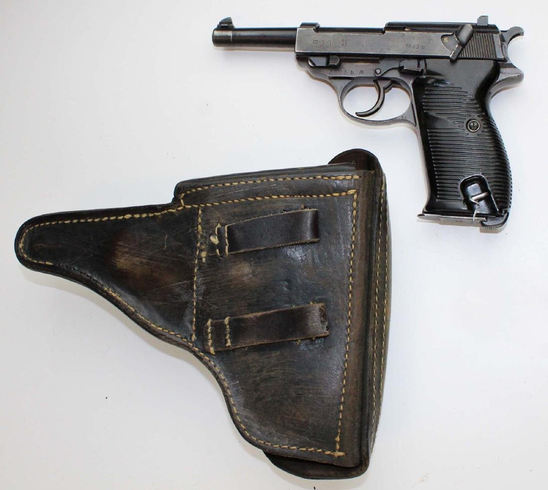 WWII Era Walther P38 Pistol - 3
