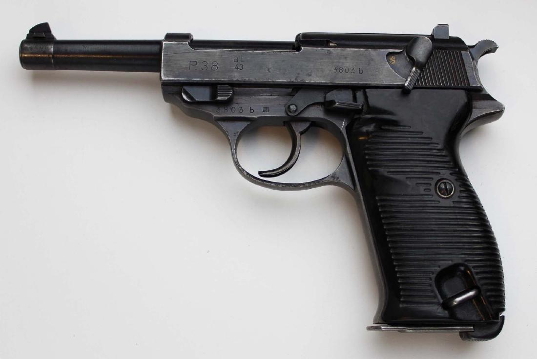 WWII Era Walther P38 Pistol - 4