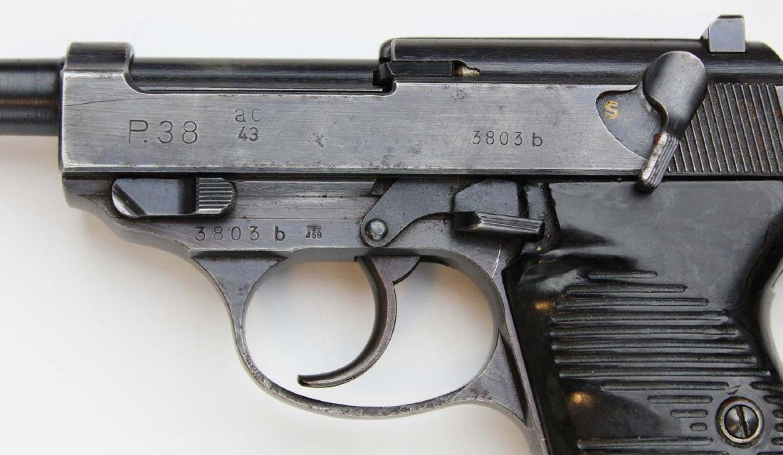WWII Era Walther P38 Pistol - 5