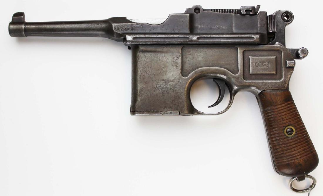 """Broomhandle"" Mauser C96 pistol"