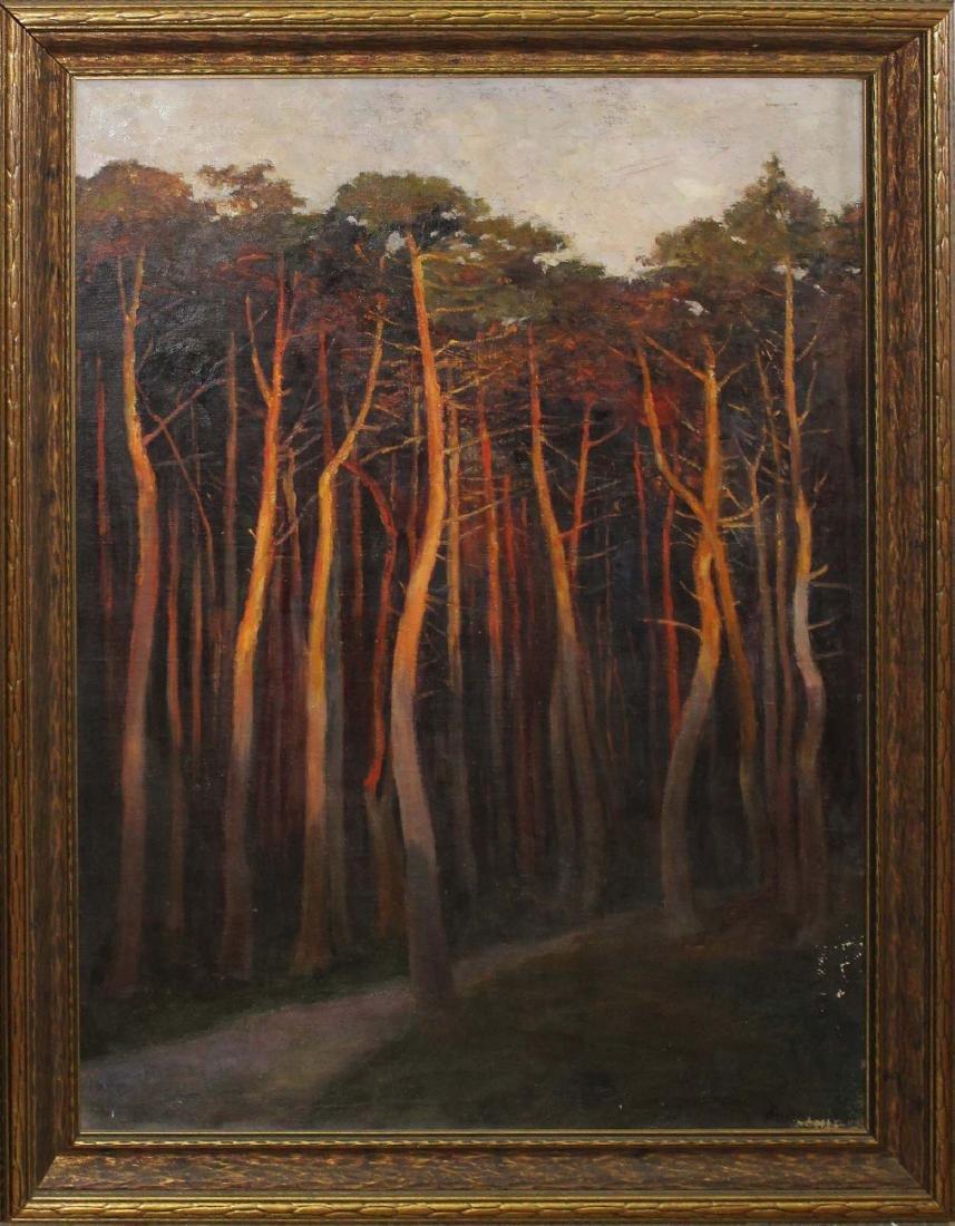 Otto Ackermann (DE 1872-1953) pines in the sun
