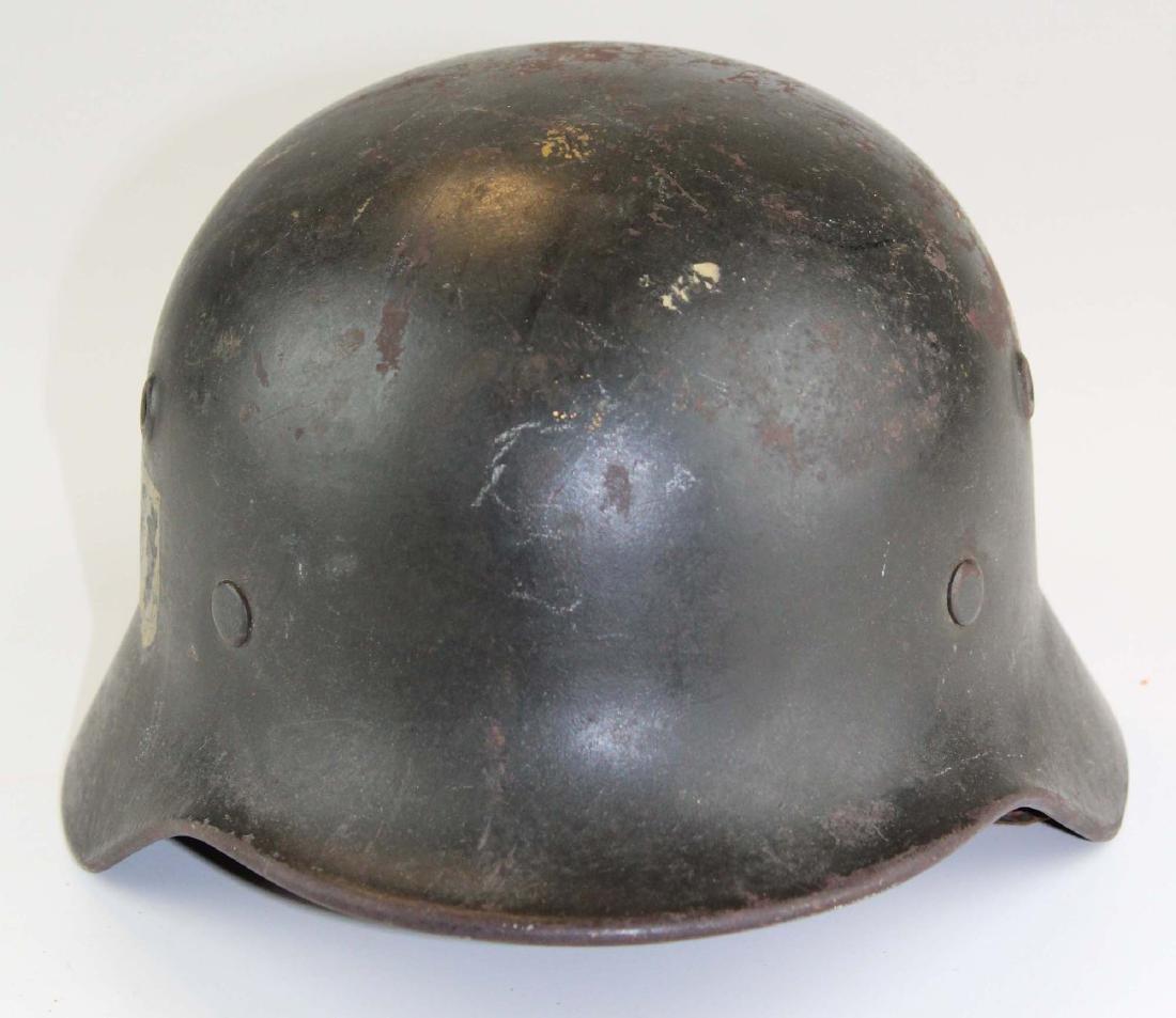 WWII Nazi German M42 SS helmet - 2