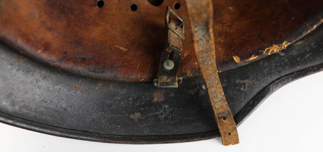 WWII Nazi German M42 SS helmet - 5