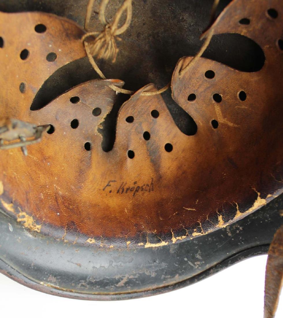 WWII Nazi German M42 SS helmet - 6