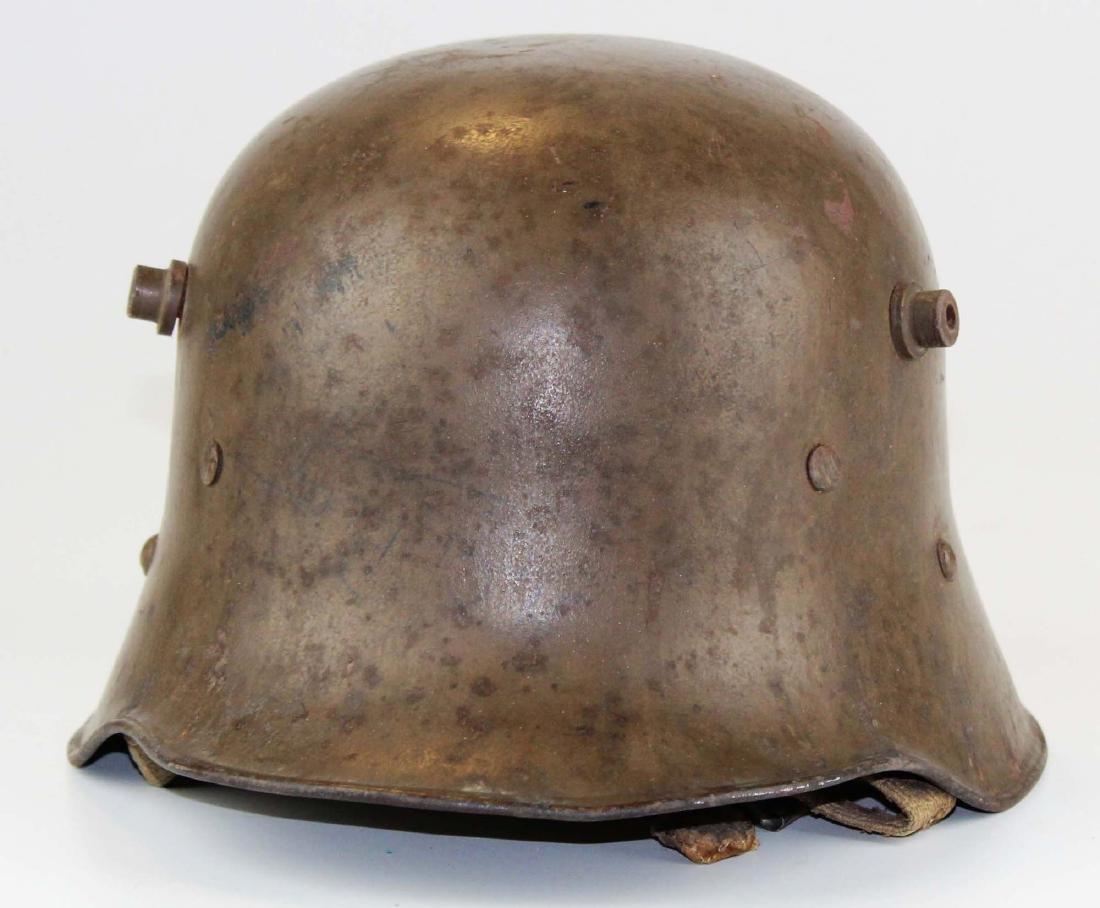 WWI German M17 helmet