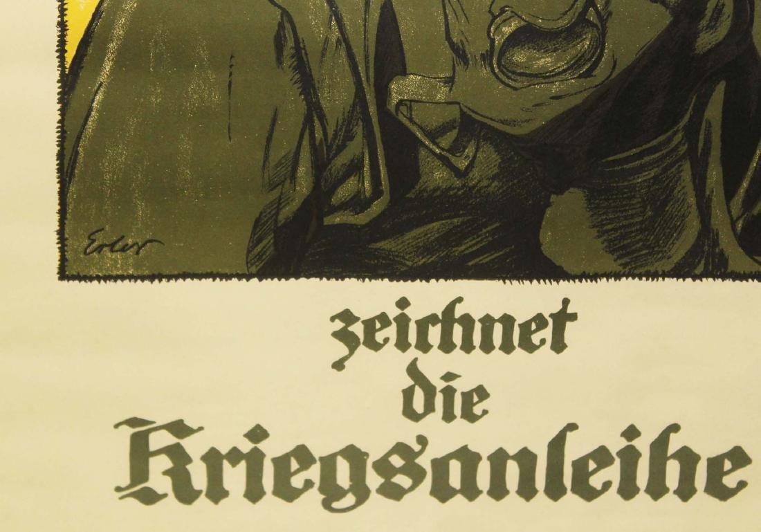 WWI German propaganda poster - 2