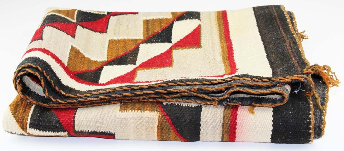 ca 1950 Navajo Crystal Trading Post blanket
