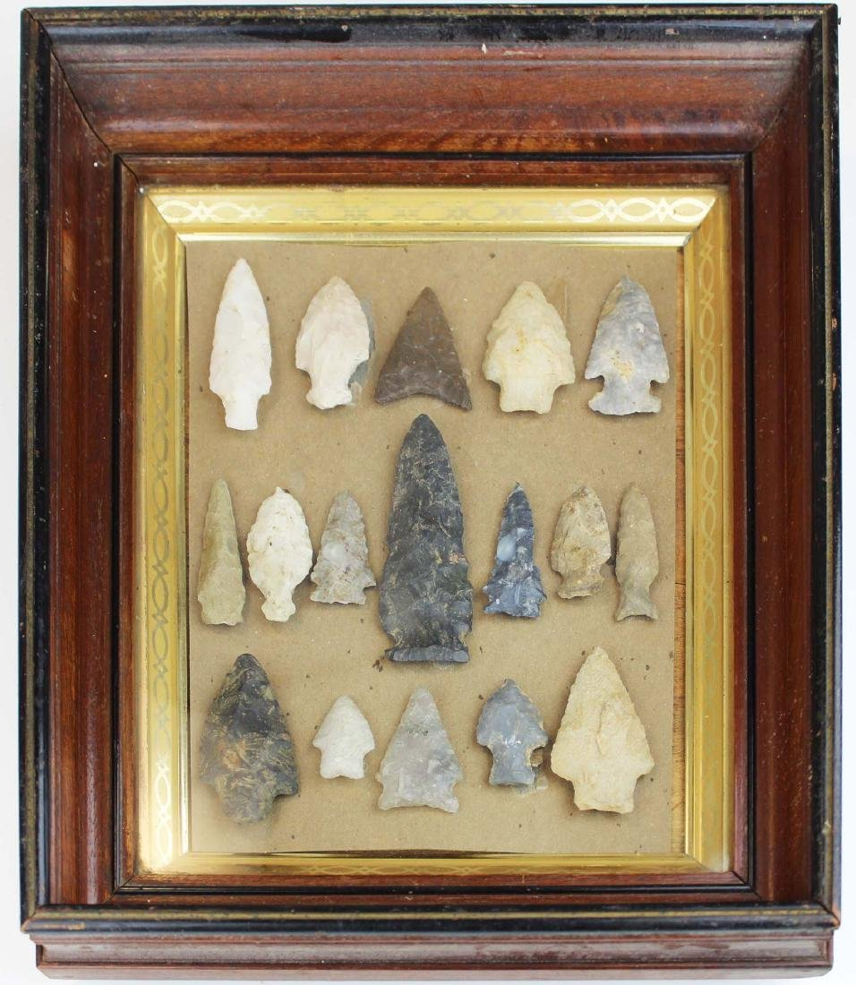 North American prehistoric lithic bifaces
