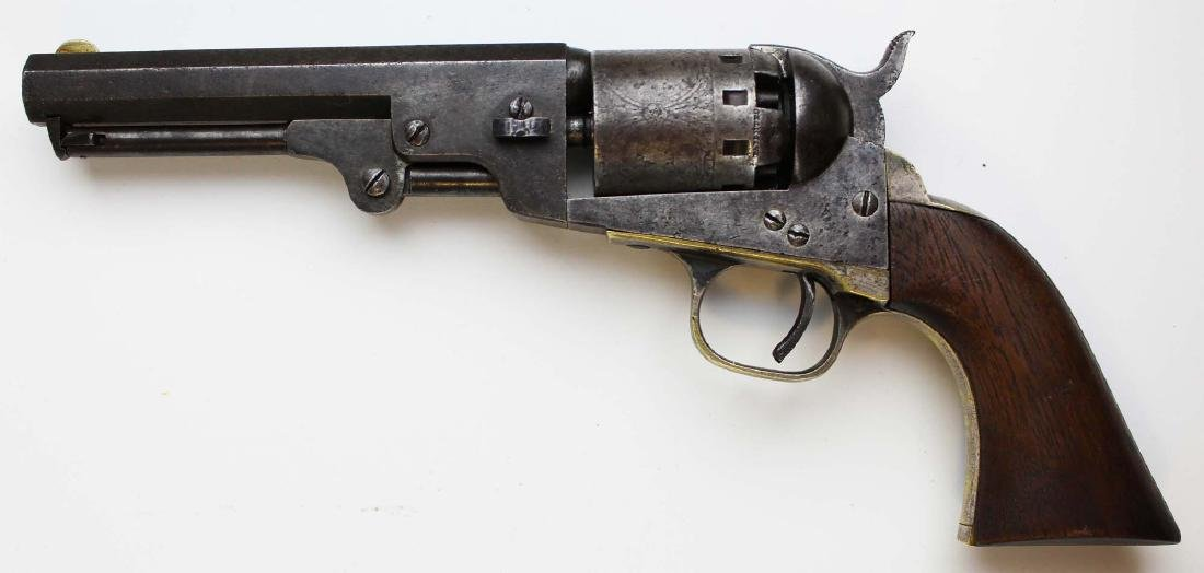 Civil War Manhattan Firearms Navy revolver - 5