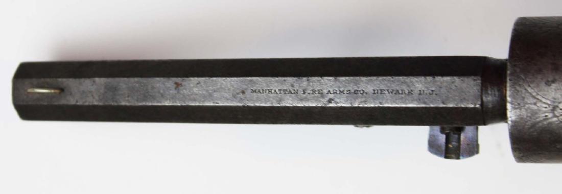 Civil War Manhattan Firearms Navy revolver - 7