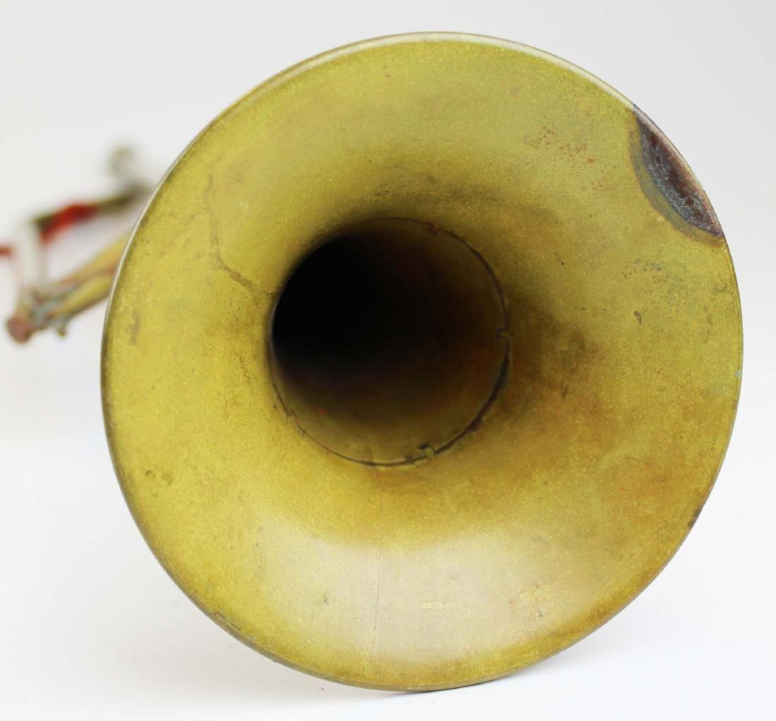 marked 114th Regt P.V. Keystone State bugle - 9