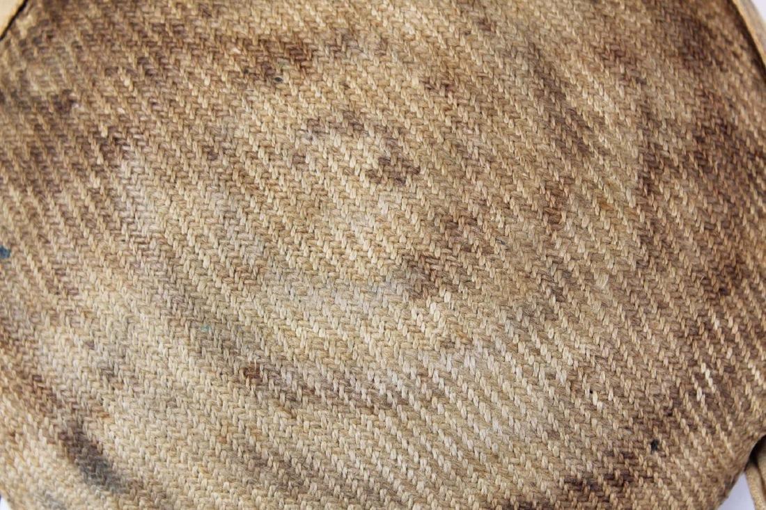 Civil War era cloth-covered bullseye canteen - 6