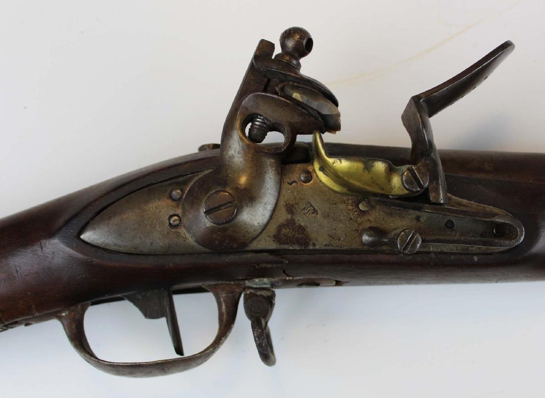 Rare early 19th c Swiss Cadet model flintlock musket