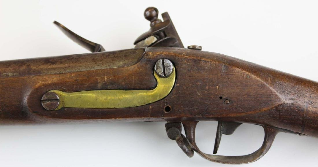 Rare early 19th c Swiss Cadet model flintlock musket - 3