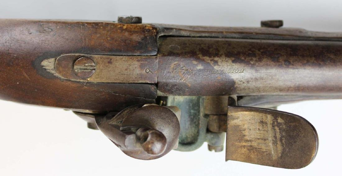 Rare early 19th c Swiss Cadet model flintlock musket - 8