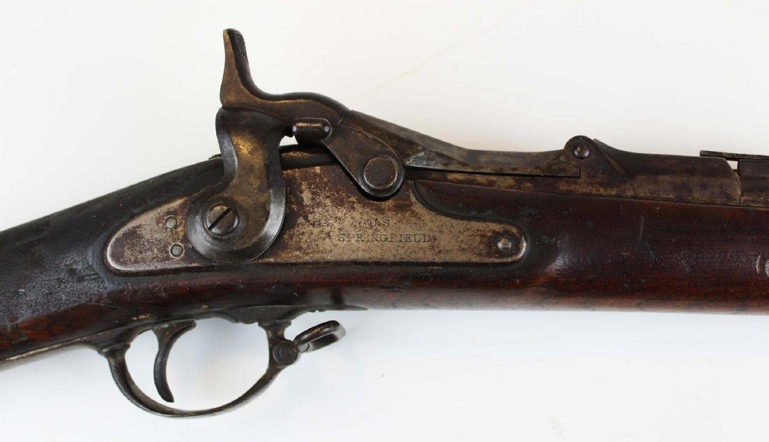 US Springfield Model 1869  Allin Conversion Rifle