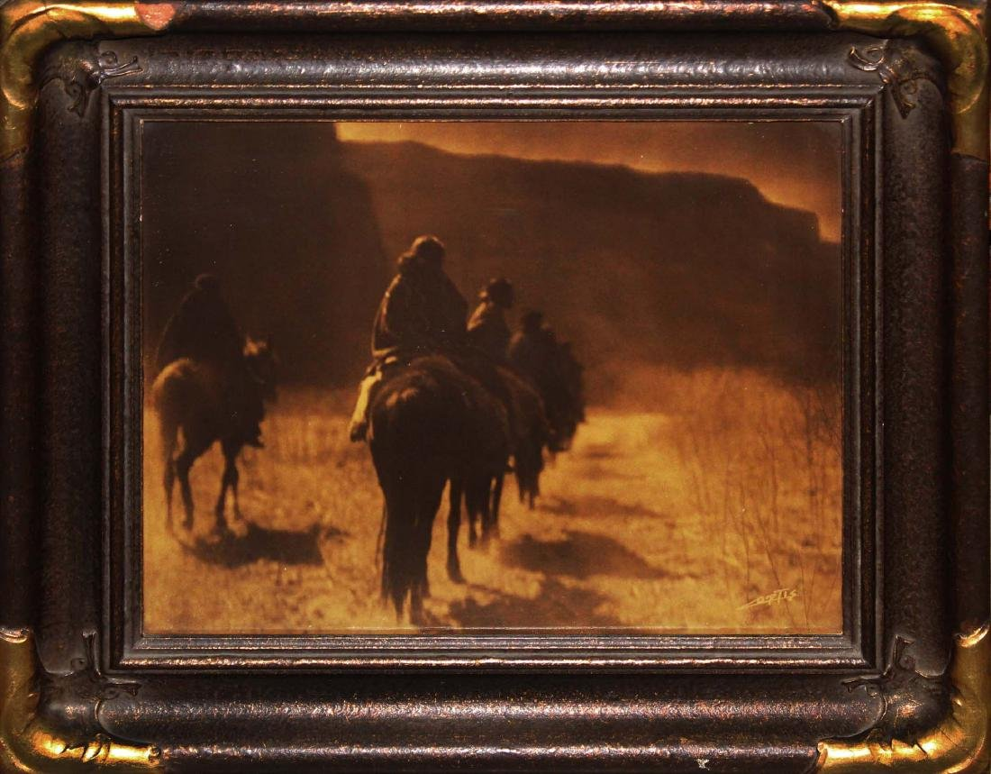 Edward S Curtis (Am 1868-1952)  The Vanishing Race -