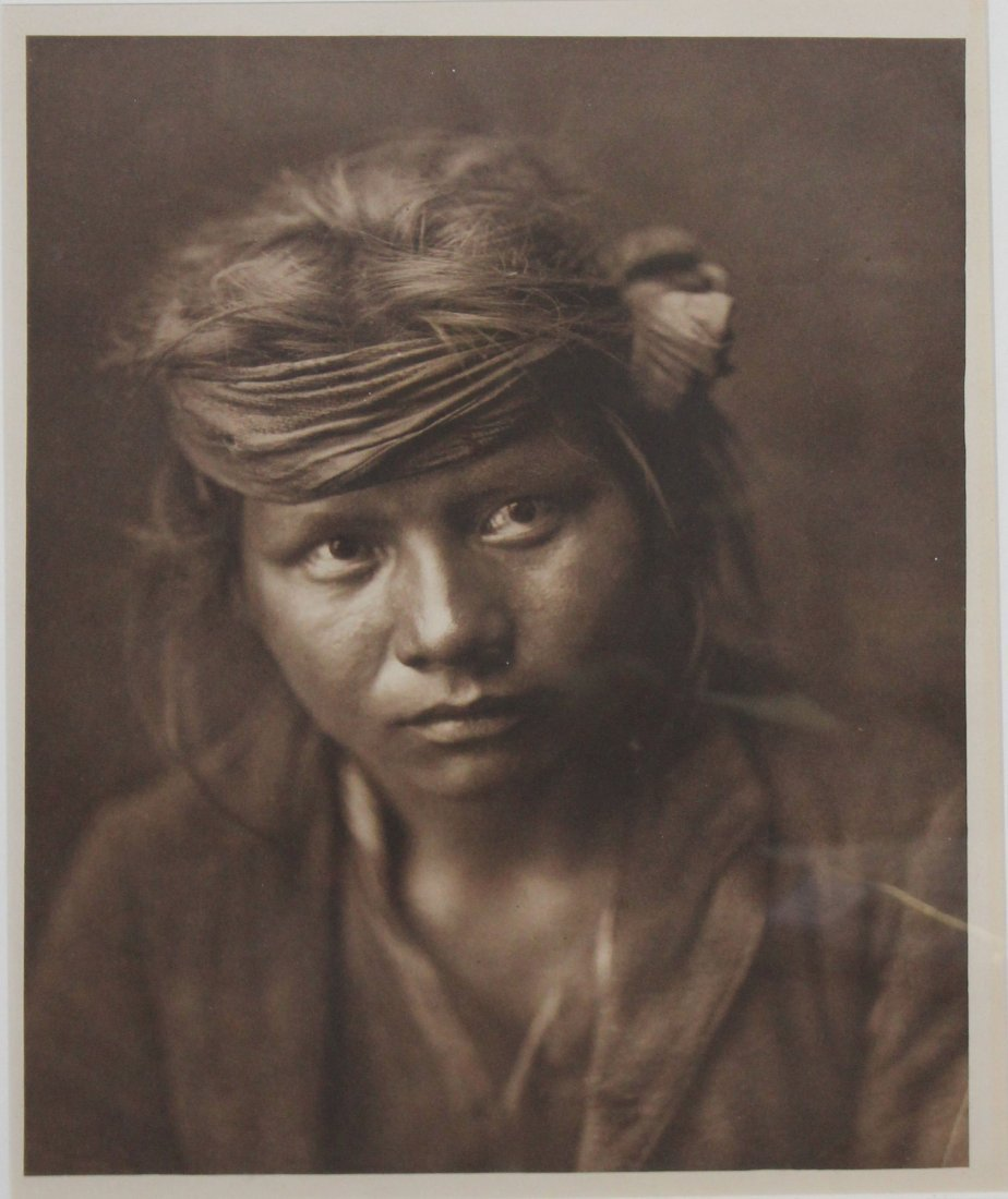 Edward S Curtis (AM 1868-1952) Son of the Destert