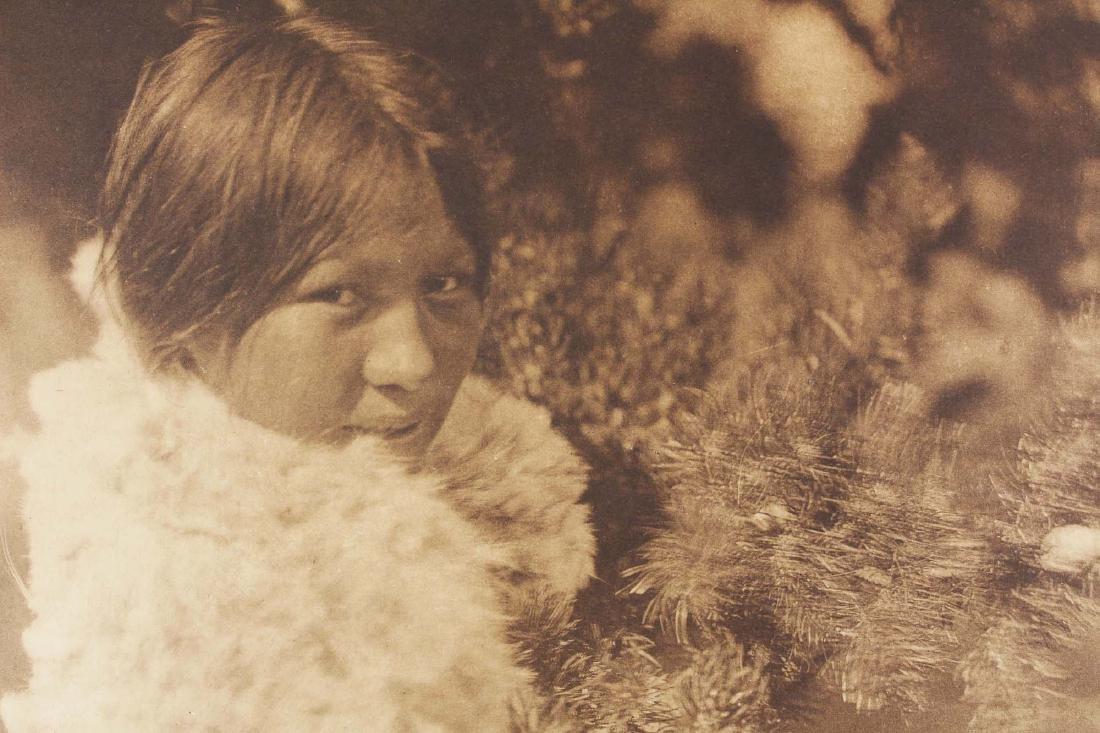 Edward S Curtis (AM 1868-1952) A Cree Girl - 2
