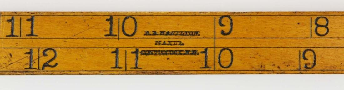 R B Haselton, Contoocook, NH log rule
