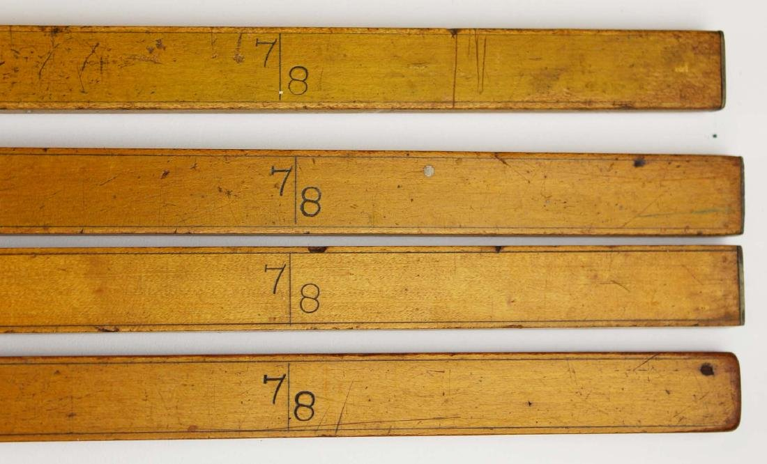 four R B Haselton, Contoocook, NH yardsticks - 3