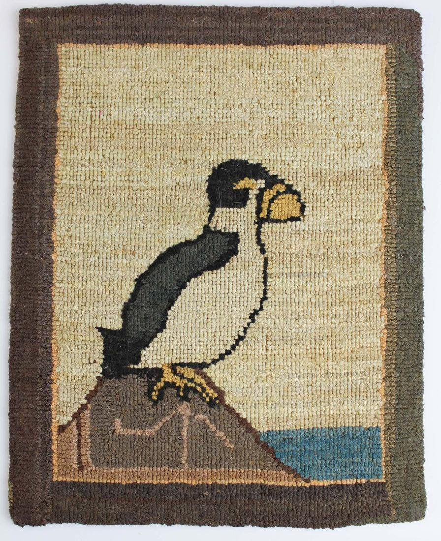early 20th c Grenfell Labrador Industries mat