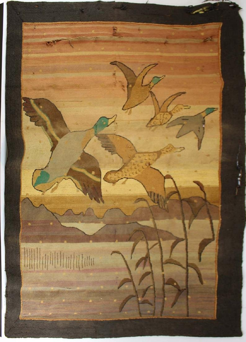 early 20th c Grenfell Labrador Industries rug