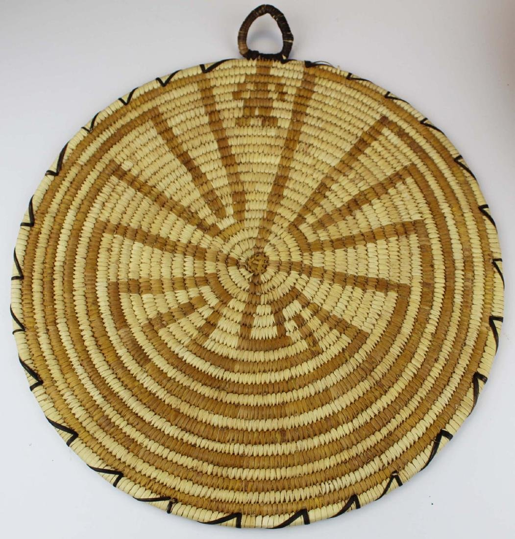 mid -late 20th c Papago maze man tray