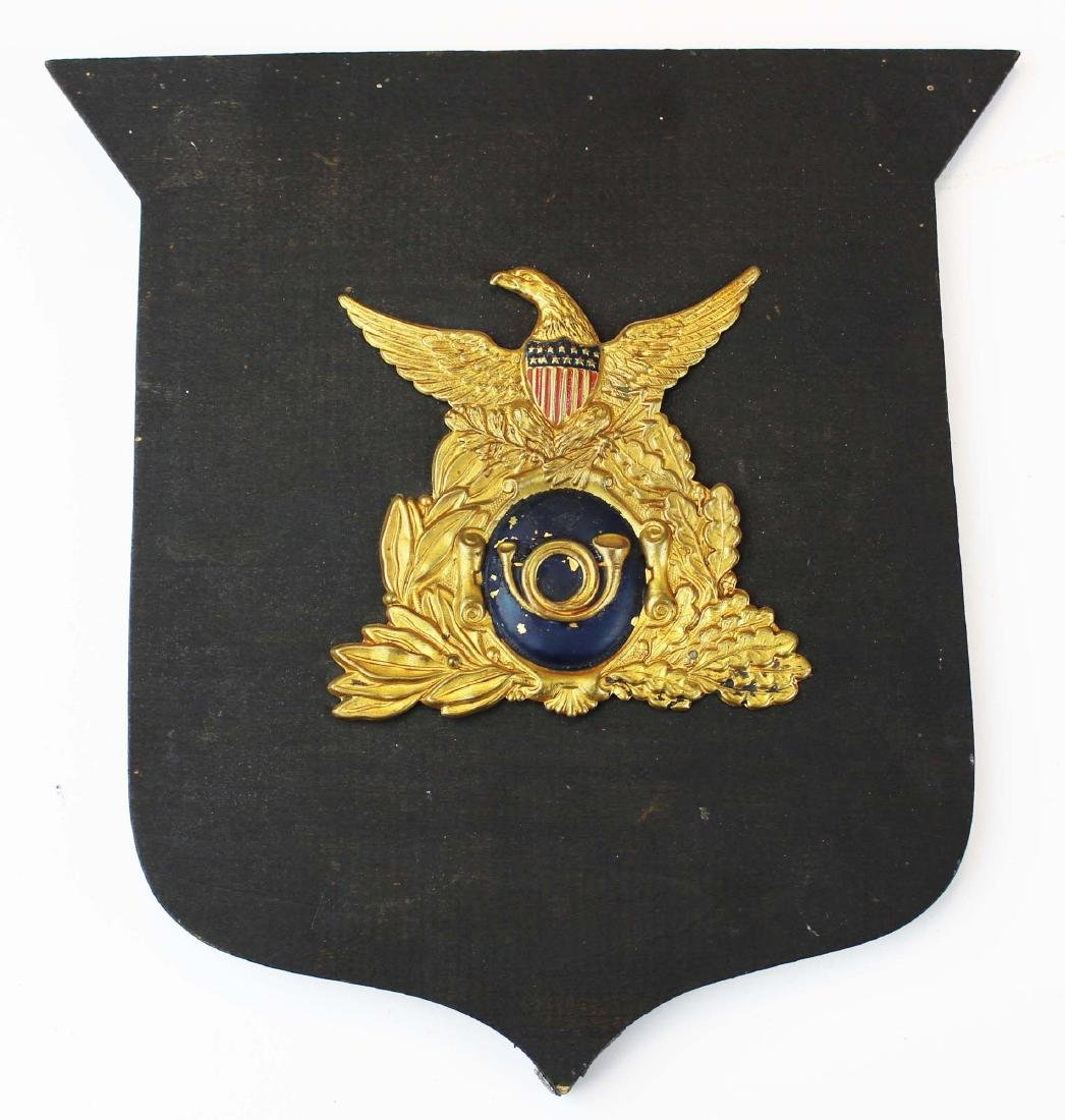 pre Civil War/ Civil War era hat badge