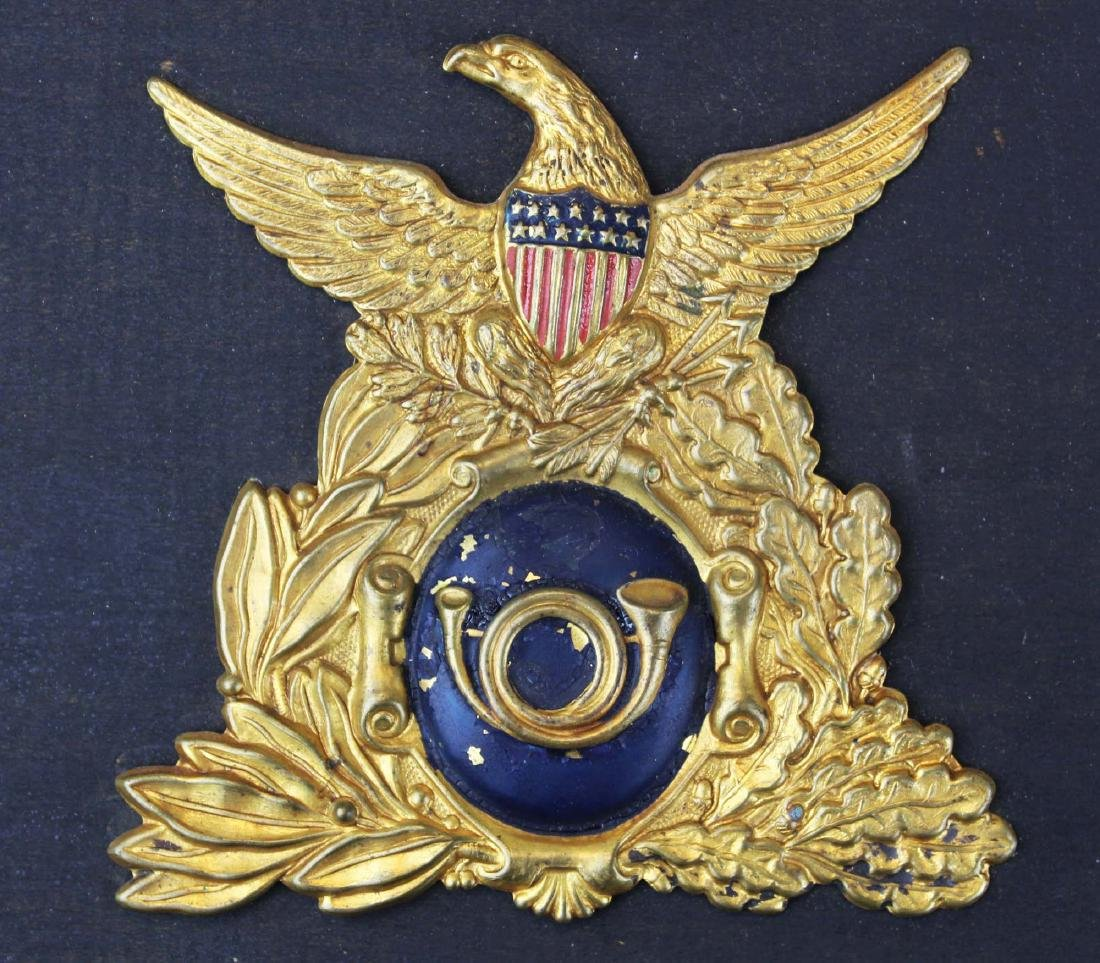 pre Civil War/ Civil War era hat badge - 2