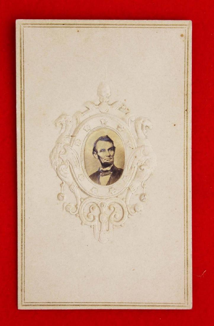 1864 Brady cdv of President Abraham Lincoln